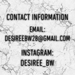 Contact Information! ☎️